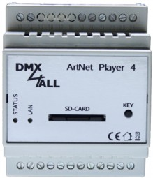 DMX4ALL - ArtNet Player 4