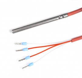 egnite - Cable temperature sensor PT100 A, up to 392 °F (200 °C), IP68, 4 W, 1 m