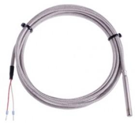Pt100 Kabelfühler, GLS 3 m, Edelstahlhülse 6x50 mm