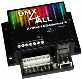 DMX4ALL - ArtNet-LED-Dimmer 4 / 4R