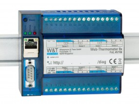 W&T - Web-Thermometer 8x Pt100/Pt1000