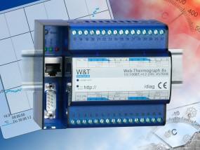 W&T - Web-Thermograph 8x Pt100/Pt1000