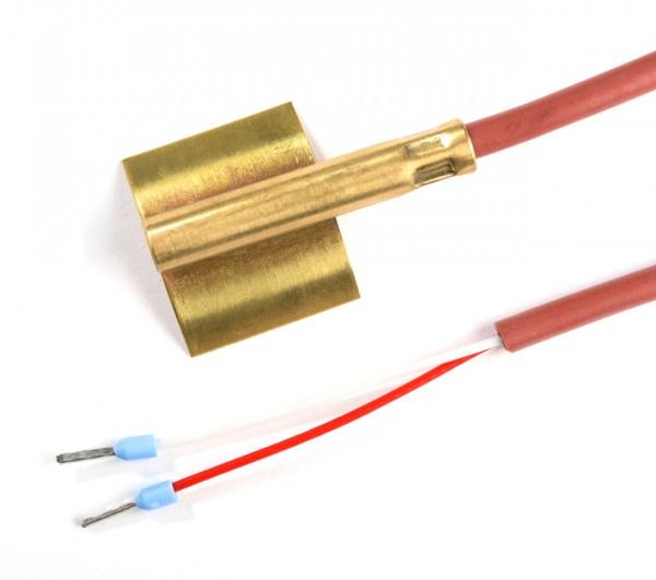 Anlegetemperaturfühler Pt100 1/3 DIN B, -50 bis 200 °C, 2 Leiter, 2 m