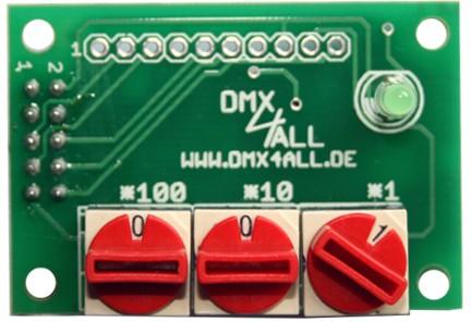 DMX4ALL - DMX-Address-Module