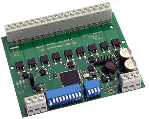 DMX4ALL - DMX-LED-Dimmer X9HR
