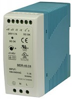 W&T - Power Supply 48 V DC, 830 mA, for DIN rail mounting