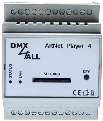 DMX4ALL - ArtNet Player 4