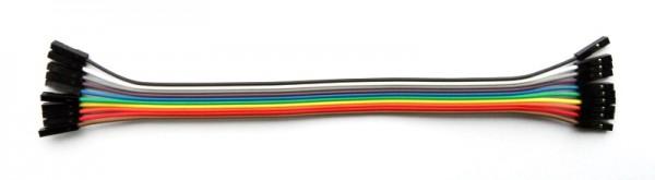 Jumper Wire, F/F, 20 cm, 10 pcs.