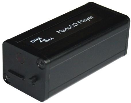 DMX4ALL - NanoSD Player